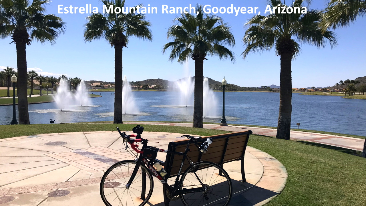 The Lake Park at Estrella Mountain Ranch in Goodyear Arizona