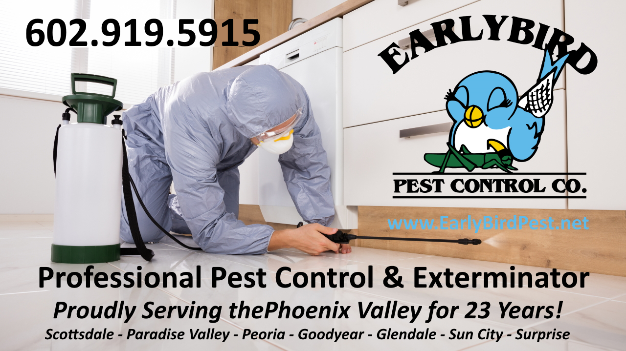 Phoenix West Valley Pest Control exterminator service  Litchfield Park Arizona
